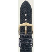 Hirsch Lizard schwarz L 01766050-1-19 19mm