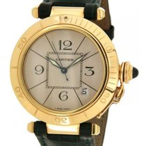 Cartier Pasha 820903 In 18kt Yellow Gold 38mm