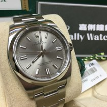Rolex Cally - 116000 Oyster Perpetual Rhodium Dial 36mm [NEW]
