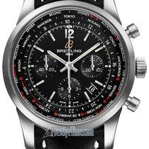 Breitling Transocean Chronograph Unitime Pilot ab0510u6/bc26-1ld