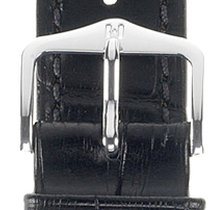 Hirsch Duke Lederarmband schwarz L 01028050-2-20 20mm