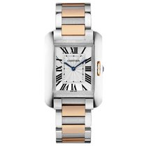 Cartier Tank Anglaise Quartz Ladies Watch Ref W5310043