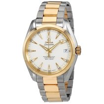 Omega Aqua Terra Master Co-Axial Silver Dial Men's Watch