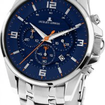 Jacques Lemans Liverpool 1-1799H Herrenchronograph Design...
