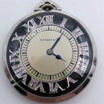 Tiffany & Co. Platinum Open Face Pocket Watch