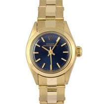 Rolex 14K Yellow Gold Ladies Oyster Perpetual, Ref: 6719