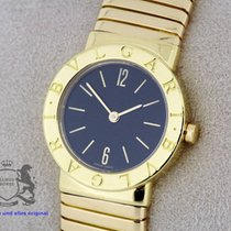 Bulgari Tubogas sold 18K Gold SERVICED by Bulgari Warranty