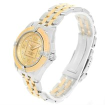 Breitling Cockpit Ladies Steel Yellow Gold Diamond Watch D71356