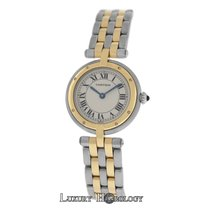 Cartier Ladies Panthere Vendome 1057920 Two Row Gold Steel