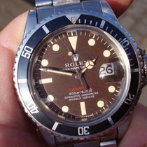 Rolex Red Submariner 1680 Mark III Tropical box & papers 1970