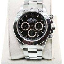 Ρολεξ (Rolex) Daytona 16520 Stainless Steel Black Dial Watch