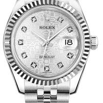 Rolex Datejust, Ref. 178274 - silber Jubi Diamant ZB/ Jubileeband