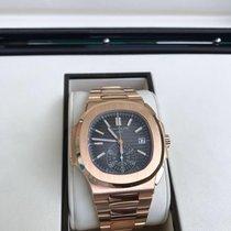 Patek Philippe Nautilus Chronograph 5980 Rosegold -NEU 2017 EU-