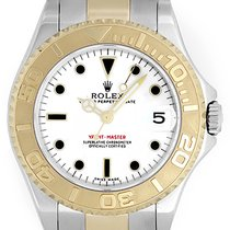 Rolex Yacht - Master Midsize Men's/Ladies Steel & Gold...