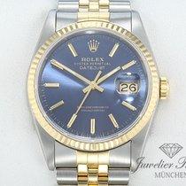 Rolex Datejust 16233 Stahl Gelbgold 750 Automatik 36 mm Date Just