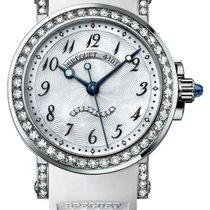 Breguet Marine 18K White Gold & Diamonds Ladies Watch