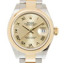 勞力士 (Rolex) Lady Datejust Gold And Steel Gold Automatic...