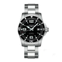 Longines Hydroconquest Automatic Black Dial Men's Watch...