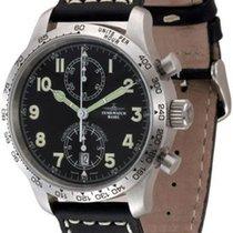 Zeno-Watch Basel NC Pilot Tachymeter Chrono Bicompax