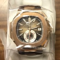 パテック・フィリップ (Patek Philippe) Nautilus Chronograph Rose Gold