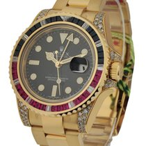 Rolex Unworn 116758SARU GMT Master II with Sapphire and Ruby...