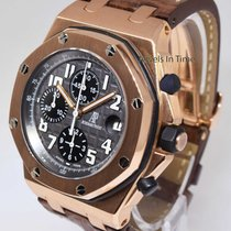 Audemars Piguet Royal Oak Offshore Chronograph 18k Gold Watch...