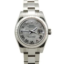 Rolex Ladies DateJust SS Mother of Pearl Roman Dial-179174