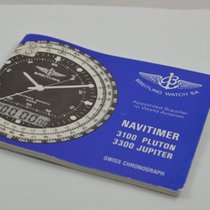 Breitling Anleitung Manual Vintage Navitimer 3100 3300