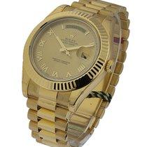 Rolex Unworn 218238 Day-Date II President - Yellow Gold -...