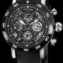 Chronoswiss Timemaster Chronograph Skeleton Steel DLC-Black ...