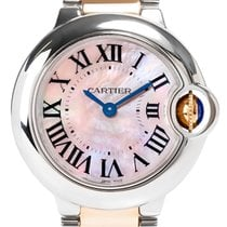 Cartier Ballon Bleu 28mm Steel/ Rose Gold W6920034