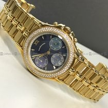 Mauboussin - Chronograph 14370 Diamond Bezel Blue Dial RG