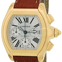 """Cartier """"Roadster"""" Chronograph Strapwatch."""