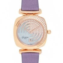 Glashütte Original 18K Rose Gold Pavonina Ladies Watch –...