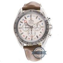 Omega Speedmaster Broad Arrow GMT Chronograph 3881.30.37