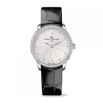 Girard Perregaux 1966 Automatic Stainless Steel Silver Dial...