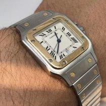 Cartier Genuine Cartier Santos 18kt Solid Gold & Stainless...