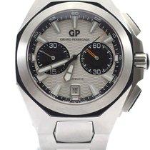 Girard Perregaux Hawk Chronograph Full Steel White NEW
