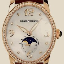 Girard Perregaux Worldtimer Cats Eye Diamond 18kt Yellow Gold...