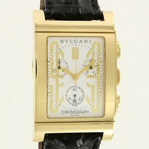 Bulgari -  Rettangolo Chrono Yellow Gold