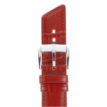 Hirsch Uhrenarmband Princess Kalbsleder rot M 02628120-2-20 20mm