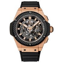 Hublot King Power Unico 48mm Automatic 18K Rose Gold Mens...
