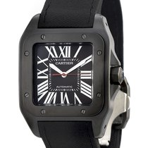 Cartier Eightday watch Santos 100 WSSA0006