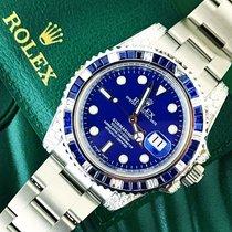 Rolex Submariner Custom Sapphire & Diamond set 116610LN