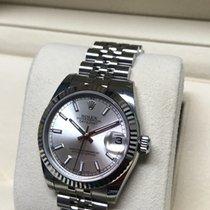 Rolex Lady-Datejust silver index