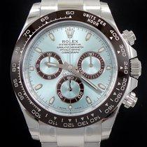 Rolex Daytona Platinum 116506 Oyster Cosmograph Ice Blue Dial...