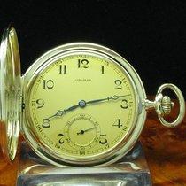 Longines 14kt 585 Gold Savonette Taschenuhr Von Ca. 1927 /...