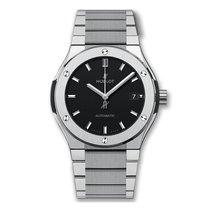 Hublot Classic Fusion 45mm Automatic Titanium Mens Watch Ref...