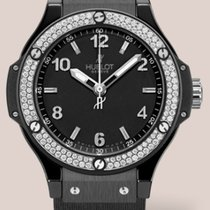Hublot Big Bang 38mm Black Magic · Diamonds 361.CV.1270.RX.1104