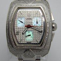Mens Aqua Master Chronograph Super Luxe W Diamond 6.15ct Watch